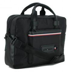 Tommy Hilfiger Computer Bag schwarz Rucksack Umhängetasche - Bags & more Tommy Hilfiger, Computer, Laptop, Bags, Handbags, Laptops, Bag, Totes, Hand Bags