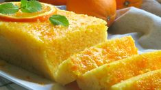 Bizcocho de naranja en 5 minutos Desserts Espagnols, Spanish Desserts, Cooking Cake, Cooking Recipes, Biscotti, Cornbread, Healthy Life, Deserts, Food And Drink