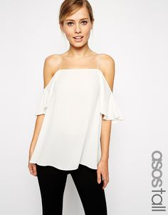 ASOS TALL Cold Shoulder Cami Top
