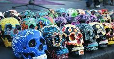 El Día de Los Muertos is celebrated in Mexico to celebrate and remember those who have passed. Symbolism of this celebration is to be found everywhere