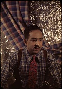 Langston Hughes Papers, Letters, manuscripts, and photographs that document the life of the African-American poet. Langston Hughes, African American Poets, African Americans, African Diaspora, My Black Is Beautiful, Thats The Way, Mixing Prints, The Life, Black History