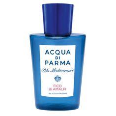 """Mediterrane Duftreise: das Duschgel aus der Linie """"Blu Mediterraneo"""" von Acqua di Parma belebt die Sinne mit Zitrus-, Pampelmuse- und Orangenessenzen und pflegt die Haut mit Süßmandelöl. 39 €, gleich shoppen bei"""