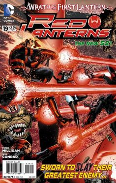 Red Lanterns #19 - The Death of Atrocitus (Issue)