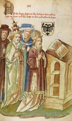Eberhard Windeck, Das Buch von Kaiser Sigmund, the life and times of the Emperor Sigismund, in German, 1440-50