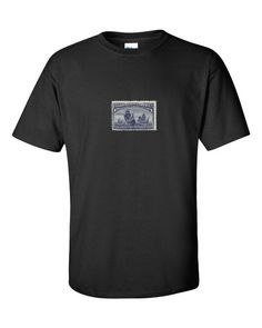 """Columbus Day - Fleet of Columbus Stamp"" short sleeve t-shirt"