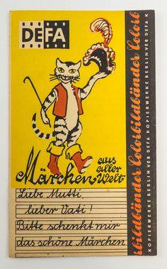 """DDR Museum - Museum: Objektdatenbank - """"Broschüre DEFA Märchen"""" Copyright: DDR Museum, Berlin. Eine kommerzielle Nutzung des Bildes ist nicht erlaubt, but feel free to repin it!"""