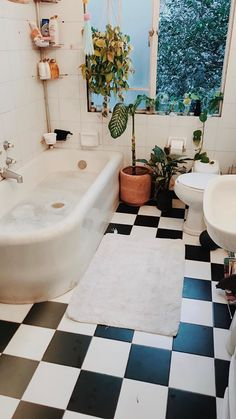 20 Ways to Add Plants in the Bathroom Do you know about the trend for bathroom plants ? This 'quick fix' for bathroom ideas makeovers is already set to to be one of the biggest style trends design bathroom remodel of Read Bathroom Plants, Small Bathroom, Bathroom Sinks, Design Bathroom, Bathroom Ideas, Bathroom Renovations, Bathroom Black, Bathroom Storage, Cozy Bathroom