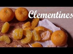 Miniature Satsumas/Clementines - Polymer Clay Tutorial - YouTube