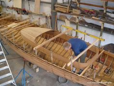 Wooden boat restoration. Click through to view all photos from this project.