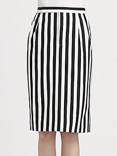 Marc Jacobs striped trouser skirt #graphic