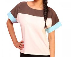 Summer fashion demands breezy colours, light fabrics and the latest, trendy style. This Schwof top fits the bill on all counts.  This three-toned top is lightweight, loose fitting and perfect for summer from all angles. It is made from a special lightweight and soft crepe fabric blend, which will keep you comfortable during these hot summer months.