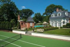 Single Family Home for Sale at Round Hill on Quiet Side Lane in Mid-Country. 29 Round Hill Club Road Greenwich, Connecticut,06831 United States