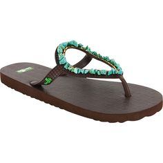 sanuk flip flops   Sanuk Ibiza Gypsy Sandals   evo