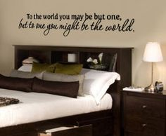 You might be the World