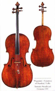 "The ""Paganini Countess of Stanlein"" Cello. Antonio Stradivari Cremona 1707"