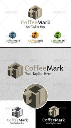 Coffe Mark Shop Logo