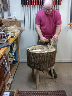 The Thousand-Dollar Shop: Make a Chopping Block for Green Woodworking