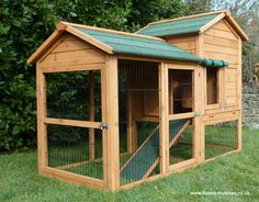 The Balmoral Rabbit Hutch is our largest and most spacious rabbit hutch with over 17.5 square feet of safe and secure space for your pet.