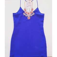 simply blue • this silk cami dress by Lavender Brown is perfect for a date night  #turnheads #blue #lavenderbrown #springfashion2014 #kkbloomstyle