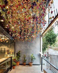 Restaurant of Lionel Messi & Iglesias Brothers: Bellavista del Garden del Norte by El Equipo de Creativo. Location: #Barcelona #Spain #architectanddesign