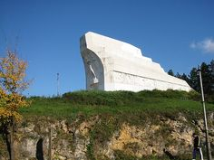Banja Luka, partisan monument in Bosnia and Hercegovina
