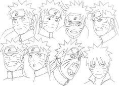 Como dibujar Naruto – tutorial para aprender a dibujar cara paso a paso (anime) | Dibujanime!