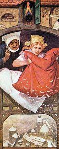 """Frau Holle - """"Eine Witwe hatte zwei Töchter, davon war die eine schön und fleissig, die andere hässlich und faul."""""""