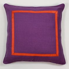 Purple and Orange Pillow - $75