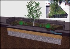 stormwater biorentention using gap-graded soils