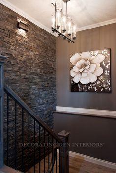 Lighting | Stone wal