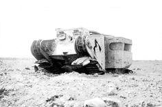 Tank wreck Ww1 Tanks, Panzer, British Army, War Machine, Dieselpunk, World War I, Military History, Wwi, Knock Knock