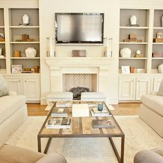 Built In Cabinets, Transitional, living room, Munger Interiors