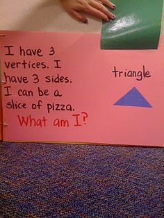 Good idea for reverse vocab.  Can do this with 3-D figures as well.