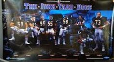 """The Junk Yard Dogs"" with Ron Rivera, Dan Hampton, Richard Dent, Otis Wilson, Wilbur Marshall, Mike Richardson, Dave Duerson and Mike Hartenstine"