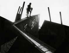 Robert Wiene, Director German 1873-1938 Still from from the Cabinet of Dr Caligari 1919