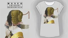Diseño de Ana López-Santacruz  inspirado en Giovanna Tornabuoni de Ghirlandaio #CamisetasThyssen