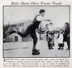 Skates Have Tractor Treads (Jun, 1936)