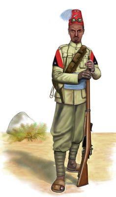 ww2 - 1940 - Ethiopia - Eritrean Sciumbasci by AndreaSilva60 on DeviantArt