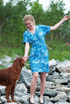 Sew Mariefleur Tea House Dress Sew House 7