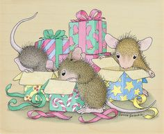Ellen Jareckie (2) | Мышки-проказники...Зимние шалости. Обсуждение на LiveInternet - Российский Сервис Онлайн-Дневников