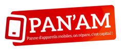 Logo PAN'AM - 2015. Réparation en ligne d'appareils mobiles pour particuliers Pan Am, Mobiles, Appliances, Fishing Line, Mobile Phones