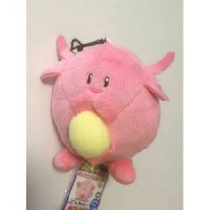 Pokemon 2014 Banpresto UFO Game Catcher Prize My Pokemon Collection Series Chansey Plush Keychain