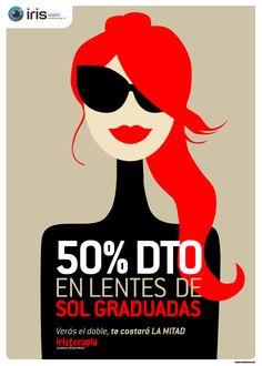 Campaña Publicidad Iris Visión http://www.g2disseny.com/