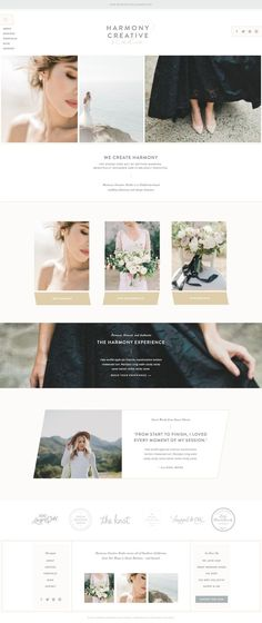 Branding and Web Design for Harmony Creative Studio | With Grace and Gold | #brand #brands #branding #design #designs #designer #designers #with #grace #and #gold #faith #based #business #businesses #website #websites #inspiration #idea #ideas #classic #p