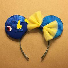 Dory Inspired Mouse Ears, Finding nemo, disneyland