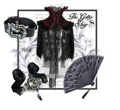 """""""Temptress"""" by thegothicshop ❤ liked on Polyvore featuring Black Swan"""