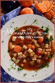 Best Minestrone Soup EVER!