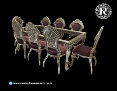 We are providing the Best Silver Furniture. Rameshwaram arts are the Silver furniture Manufacturer and supplier Company. We are offering our products of understand what it means to supply a quality product at a true value to all of our customers. Furniture Sofa Set, Silver Furniture, Home Furniture, Furniture Design, Silver Sofa, Silver Coffee Table, Craft Presents, Wooden Products, Sofa Set Designs