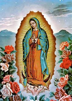 Our Lady of Guadalupe Virgin Mary Blessed Mother por EclecticForest