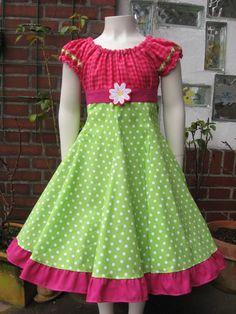 Einschulungskleid+ELODIE++Gr.+122+von+lantana+auf+DaWanda.com